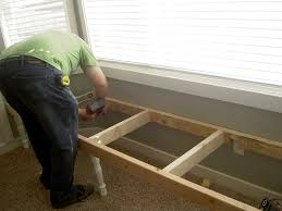 creating storage in a mobile home our new window seat arafen