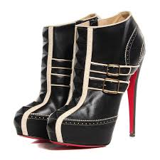 christian louboutin leather bobo 160 ankle boots 41 black 92708
