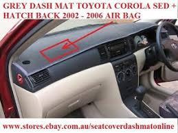 toyota corolla dash mat dash mat dashmat dashboard cover fit toyota corolla 2002 2006 sed