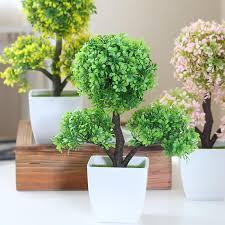Online Shop Home Decor Hyson Shop Home Decoration Artificial Bonsai Pot Planter Fake
