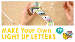 make your own light up sign make your own light up letters youtube