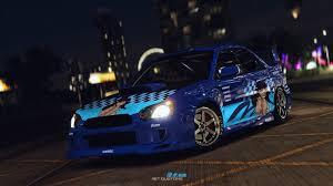 syndicate car artstation street racing syndicate subaru impreza sti