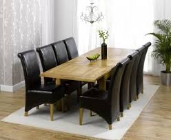 Seater Black Dining Table - Black dining table for 8