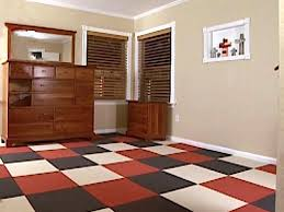 how to install carpet tiles hgtv