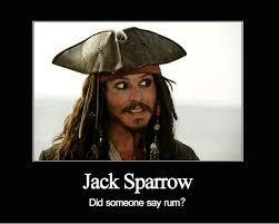 Rum Meme - jack sparrow rum meme