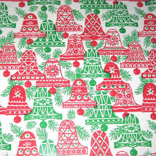 m m wrapping paper vintage christmas wrapping paper or gift wrap with and