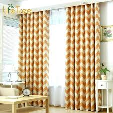 Yellow Bedroom Curtains Yellow Chevron Curtains Hpianco