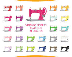 sewing clipart etsy