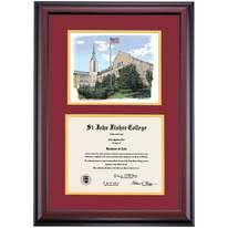 college diploma frames st fisher college graduation diploma frames by college ocm