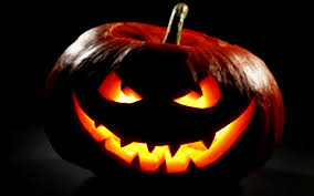 pumpkin images free download burning pumpkin with creepy smile on magic tree halloween