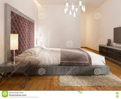 decoration chambre hotel a luxury hotel room in deco stock illustration illustration