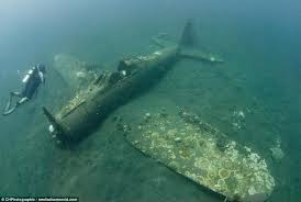 lost ww2 fighter planes are discovered off of the solomon islands