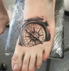 50 impressive compass tattoos designs and ideas 2018