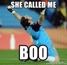 Soccer Player Meme - she called me boo celebrating soccer player meme generator