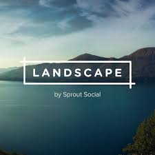 social media image resizing tool landscape by sprout social