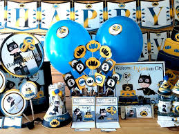 birthday party supplies batman printable party supplies batboy birthday decorations