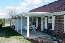 Lightweight Porch Awning Aluminum Porch Awnings White U2014 Jburgh Homes Best Porch Awnings
