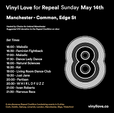 Livingroom Manchester Manchester U2014 Vinyl Love For Repeal