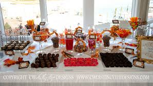 candy table for wedding fall wedding candy favors cw distinctive designs