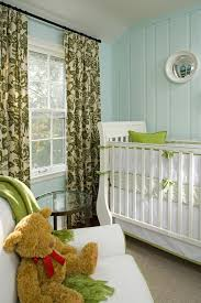 Demar Interiors Painted Paneling For A Traditional Nursery With A Teddy Bear And