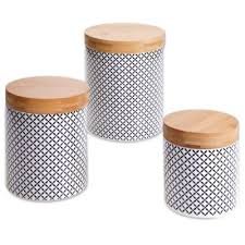 buy black kitchen canisters from bed bath u0026 beyond