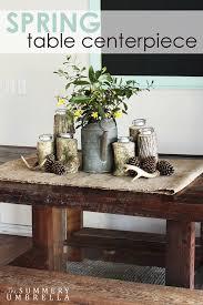 spring table centerpiece