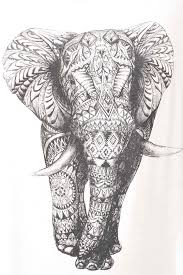 indian elephant search pinturas