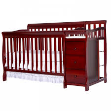 Convertible Crib Changing Table Brody 5 In 1 Convertible Crib With Changer On Me
