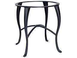 Woodard Patio Furniture - woodard cabriole aluminum counter height table base 2g5500