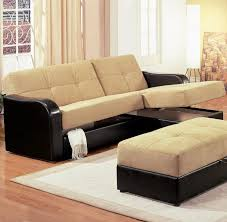 Hide A Bed Ottoman Amazing Furniture Ottoman Chair Cowhide Leather Sofa Inside