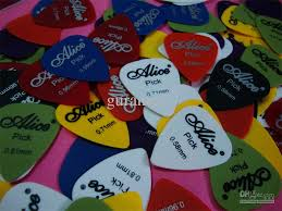 wholesale wholesale frosted abs guitar picks 0 58mm to 0 96m