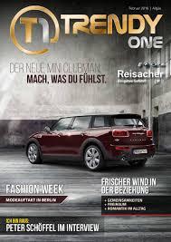 trendyone das magazin allgäu februar 2016 by ad can do gmbh