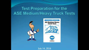 test preparation for the ase medium heavy truck tests youtube