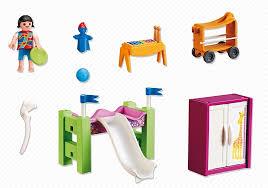 chambre enfant playmobil city playmobil 5579 chambre d enfant avec lit mezzanine