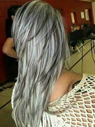 coloring gray hair with highlights hair highlights for all sizes silver highlights flickr photo sharing great