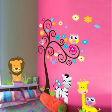 owl scroll tree removable wall sticker home decor kids nursery owl scroll tree removable wall sticker home decor kids nursery cartoon mural child room baby room decor wall decal wall stickers cheap wall stickers 1 piece