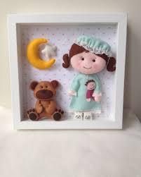 Etsy Nursery Decor Doll And Box Frame Baby Decorative Frame Child Frame Decor
