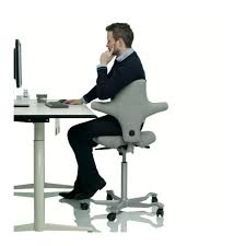 Office Chair For Standing Desk Hag Capisco Ergonomic Office Chair Fully With Regard To Leaning