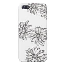 and ink daisy sketch gifts on zazzle