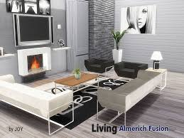 Contemporary Living Room Sets A Modern Living Room Set Found In Tsr Category Sims 4 Downloads