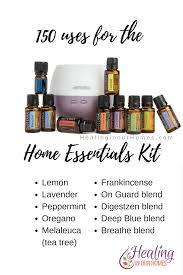home essentials 150 uses for doterra s home essentials kit healing in our homes