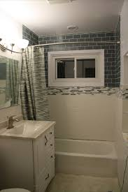 glass subway tile bathroom ideas bathroom design remodel decor mirror excerpt with a glass view