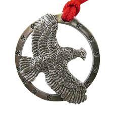 pewter bobwhite quail flying small holiday ornament b033or
