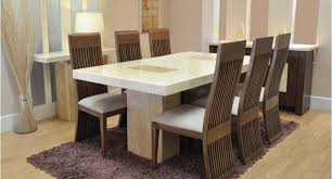 8 Chairs Dining Set Modern Style Dining Table And Chairs With Dining Table And 8