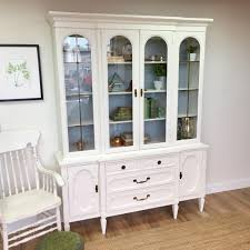 shabby chic china cabinet vintage china cabinet hollywood regency mid century dining room