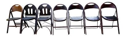 Stakmore Folding Chairs Vintage Antique Stakmore Louis Rastetter U0026 Sons Folding Wooden Leather