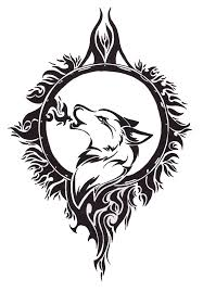 celtic wolf design free download wolf tattoo design by angel of