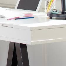 Trestle Computer Desk Customize It Project Trestle Desk Pbteen