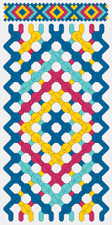 bracelet friendship pattern images Friendship bracelets instructions diamond pattern the best png