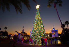 video seaworld u0027s christmas celebration in orlando is a wet and